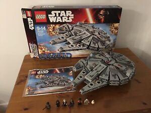 Star Wars Lego 75105: Millennium Falcon 100% Complete & Boxed