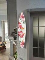 Surfboard Wall Art, Surfers gift, Tropic style, Beach Decor