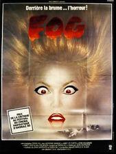Affiche Pliée 120x160cm FOG 1980 John Carpenter, Jamie Lee Curtis, Janet Leigh