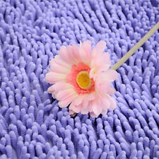 5 Sizes Shaggy Bathroom Non-Slip Cushion Shower Microfibre Bath Mat Rug Carpet