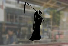 25cm Reaper of souls with a scythe Vinyl Stickers Decal Car Auto Glass Window