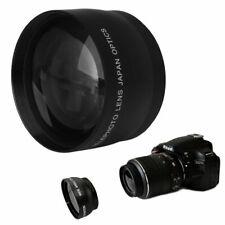 58mm 2.0X Telephoto Lens fit for Canon Rebel T4i T3i T3 T2i T2 T1i XT XTi XS XSi