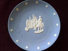 WEDGWOOD JASPERWARE PLATE AMERICAN INDEPENDENCE VICTORY AT YORKTOWN  1776 - 1976