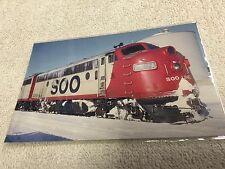 "Soo Line, #2202A, Post card 5-1/2"" x 3-1/2"" , F Unit, EMD F7, Diesel Locomotive"
