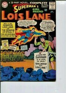 SUPERMAN'S GIRL FRIEND LOIS LANE 62 VF-  SCHAFFENBERGER C/A  1965