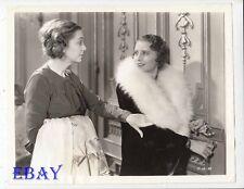 Barbara Stanwyck Zazu Pitts VINTAGE Photo Shopworn