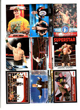 John Cena Wrestling Lot of 9 Different Trading Cards 3 Inserts WWE JC-F2