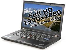 "Lenovo ThinkPad W520 i7 2760QM 2,4GHz 4GB 500GB 15,6"" Win 7 Pro 2000M 1920x1080"