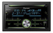 Pioneer FH-X730BT Autoradio DoppelDIN-Format CD-Laufwerk USB AUX-IN Schwarz