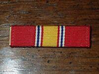 Vietnam War US National Defense Service Medal Slide Ribbon Bar - Hallmarked