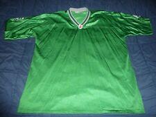 CFL SASKATCHEWAN ROUGHRIDERS - Green & White Vintage PUMA Jersey - 2XL / XXL