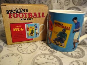 Mug - Charles Buchan's Football Monthly The Beautiful Game Wild & Wolf New/Boxed