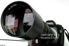 Téléobjectif 500-1600 mm pour Canon EOS 800D 77D 1300D 1200D 1100D 750D 760D