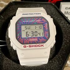CASIO G SHOCK White DW-5600-7ER Psychedelic Sport 20 Bar WR Watch Wristwatch New