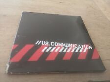 U2 COMMUNICATION Rare Fan Club Exclusive Promo 2 Disc CD and CD-Rom Set