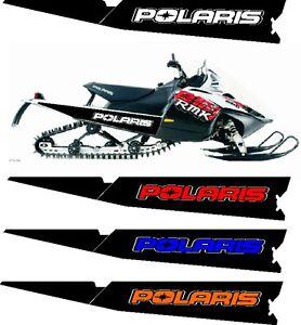 POLARIS IQ RMK SHIFT DRAGON 550 600 800 121 136 144 155 163 TUNNEL STICKER 2