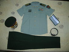 Obsolete 07's series China PLA CMC 3 Stars General Summer Short-Sleeved Uniform