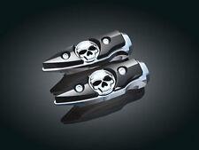 HARLEY Skull Gothic Rider or Passenger Footpegs/Footrests/Pegs KURYAKYN 7521