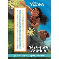 Disney Moana Adventurer Activities Colouring Puzzles 10 Tribal Tattoos Games B