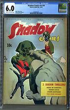 Shadow Comics, Sphinx Issue, Golden Rare, V3 #9 (1943, Street & Smith) CGC 6.0!!