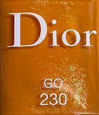 Dior nail polish 230 GO limited edition BNIB