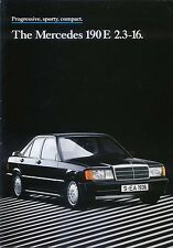 Mercedes Benz 190E 2.3-16 Cosworth 1985-88 Original UK Sales Brochure