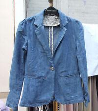 Fait juste pour vous 12-13 Ans Splendide Filles Vraiment Jolie Mi-bleu denim jacket
