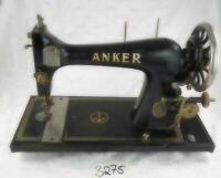 Nr.3275 alte Nähmaschine Fabrik ANKER Dekoration Deko Antik Retro Nähen