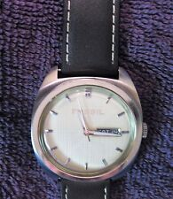 Fossil   Beautiful wrist watch clean men's new battery Fs-4054    DUAL LANGUAGE!