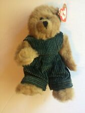 Scarce - Original G1 Ty Collectible Beanie Baby Plush Oscar Mnwt Vintage Bear