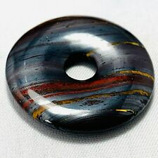 Genuine Large Tiger Iron Donut 43.6ct 1 3/16in