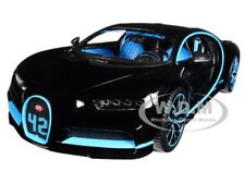 BUGATTI CHIRON 42 BLACK LIMITED EDITION 1/18 DIECAST MODEL CAR BY BBURAGO 11040