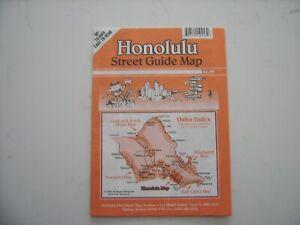 Honolulu Street Guide Map 2006
