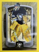 2005-06 Upper Deck Rookie Update Hockey #80 Marc Andre Fleury Penguins