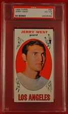 1969 Topps #90 JERRY WEST, HOFer, Lakers, VG-EX4!