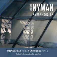 Michael Nyman: Complete Symphonies I - Nos 5 & 2 [New CD] UK - Import