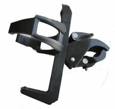 CLIP ON UNIVERSAL MOTORCYCLE CUP DRINK HOLDER FOR HARLEY HONDA 2 holders NEW