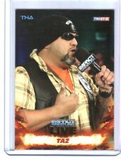 TNA Taz #27 2013 Impact Wrestling LIVE GOLD Parallel Card SN 46 of 50