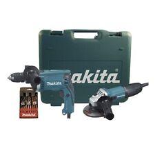 MAKITA kit trapano a percussione HP1631 + smerigliatrice GA4530R DK0049X1