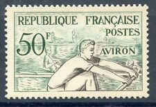TIMBRE FRANCE NEUF N° 964 ** SPORT JEUX OLYMPIQUES HELSINKI AVIRON COTE 10 €