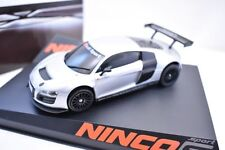 NINCO 1:32 5055 AUDI R8 GT3 TEST CAR LIGHTENED: BNIB: SCALEXTRIC COMPATIBLE