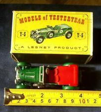 Matchbox Lesney Models Of Yesteryear Y5 1929 4.5 Litre Bentley