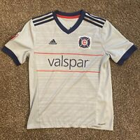 Adidas Chicago Fire BASTIAN SCHWEINSTEIGER Jersey; Youth Large; 2018; Authentic