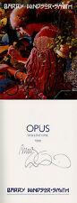 Barry Windsor-Smith SIGNED AUTOGRAPHED Opus HC 1st Ed/1st Conan Marvel Comics