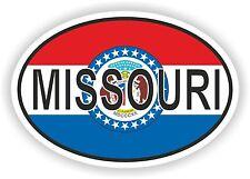 Missouri Aufkleber Autoaufkleber Motorrad Nationalitätenkennzeichen Flagge