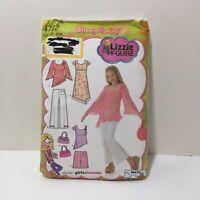 Simplicity 4722 Size 8-16 Bias Dress Tunic Pants Shorts Purse