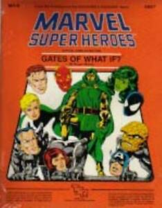 TSR Marvel Super Heroes Gates of What If? SW