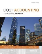 Cost Accounting, Student Value Edition by Madhav T. Rajan, Charles T....