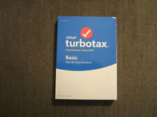NEW UNOPENED Intuit Turbotax BASIC 2018 Disc CD