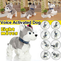 Electric Pet Dog Toy Intelligent Interactive Voice Control Kids Christmas Gift